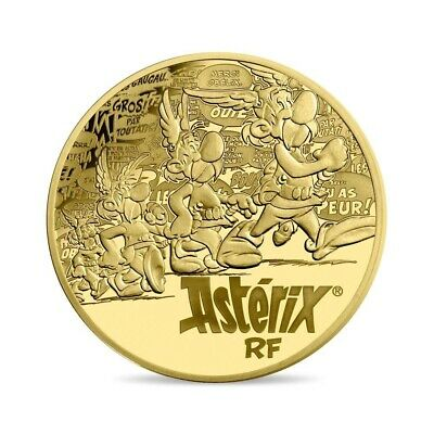 Francia 2019 Proof Oro - 60 Years Asterix