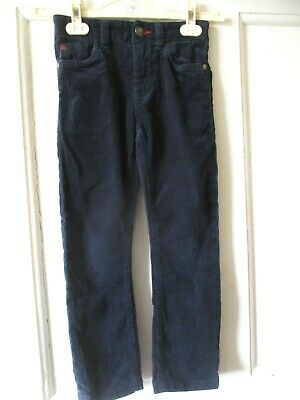 Next skinny  girls navy  needlecord trousers age 6 height 116cm