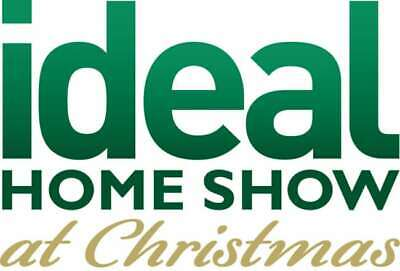 4x Ideal Home Show CHRISTMAS FAMILY Tickets WEDNESDAY 20TH NOV London Olympia