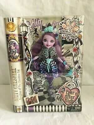 Ever After High Kitty Cheshire CAT Spring Unsprung Doll NEW