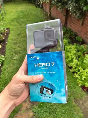 GoPro 7 HERO Silver 4K Waterproof Action Camera Camcorder - Brand New in Box