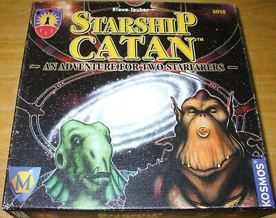 Starship Catan Mayfair 3010 Board Game Klaus Teuber Game Excellent 96% complete