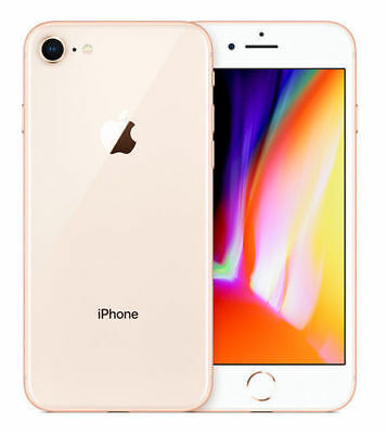 Apple iPhone 8 - 64GB - Gold (Unlocked) A1863 (CDMA + GSM) ~OPEN BOX~ EXCELLENT!