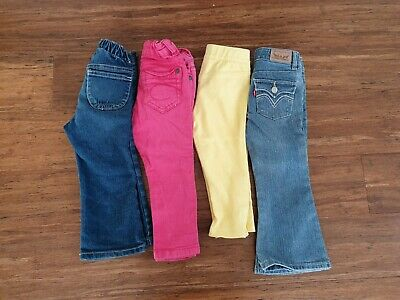 Girls Size 18 Months To 2 Years Levis Gymboree Cotton On pants trousers jeans