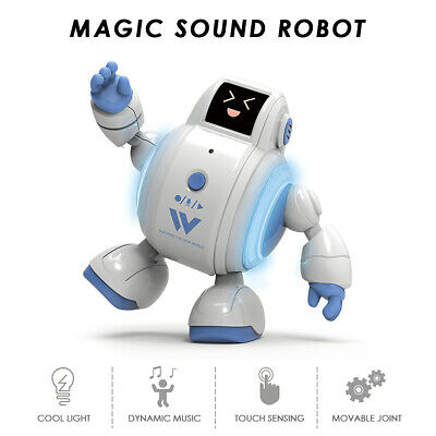 R07 Robots for Kids Interactive Robot Toys  Sensing Singing Robot with A5P8