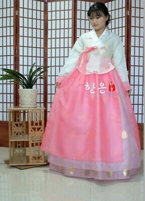 Korea Imported Fabrics / The Latest Improved Hanbok Bride Hanbok Stage Costumes