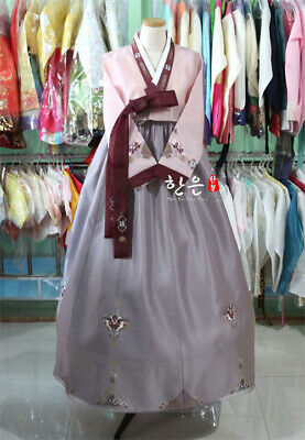 Korea Imported Fabric Mother Hanbok Korean Traditional Clothing Korean Hanbok