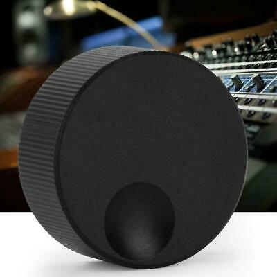Volume Control Black Frosted Solid Plastic Knob For 6mm Potentiometer G3S3