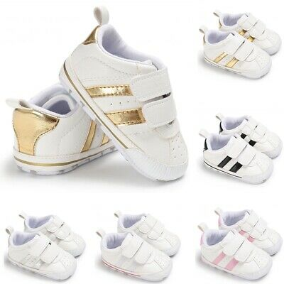 Newborn Baby Soft Sole Crib Shoes Infant Boy Girl Toddler Sneaker Anti-Slip Soft