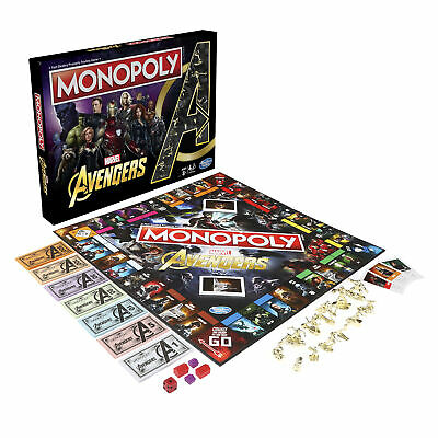 Monopoly: Marvel Avengers Edition Board Game