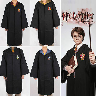 Harry Potter Cosplay Costume Gryffindor Hufflepuff Slytherin Ravenclaw Mantello