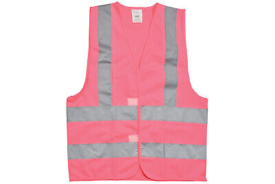 MERCURYTRADE High Visibility Waistcoat Pink Size S NEW