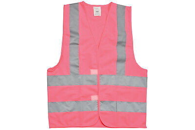 MERCURYTRADE High Visibility Waistcoat Pink Size M NEW