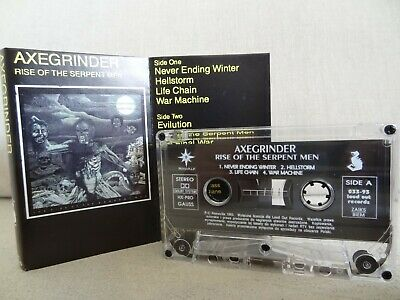 AXEGRINDER The Rise Of The Serpent Men / 1993 / MC, CASSETTE MINT - RARE