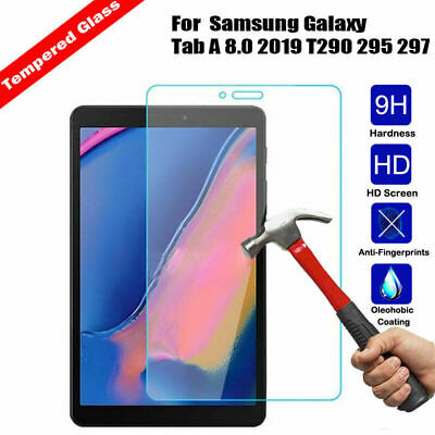 for Samsung Galaxy Tab A 8.0 2019 T290 295 297 ,Tempered Glass Screen Protector