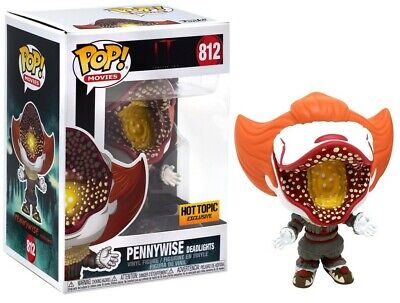 Funko Pop! Pennywise Deadlights #812 IT Chapter Two Hot Topic Exclusive Limited