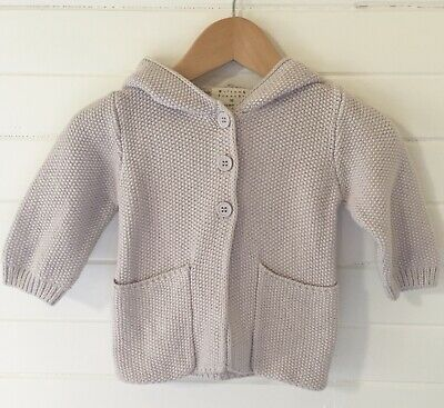 Wilson & Frenchy Cardigan - Cotton Bamboo Wool - Size: 00 / 3-6 months (#D2432)
