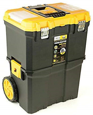 """Uk Planet UPT-5039 Tool Chest Tough Master Professional 19"""" Mobile Storage Box"""