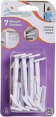 Dreambaby Secure Catches Safety Locks (Pack Of 7)