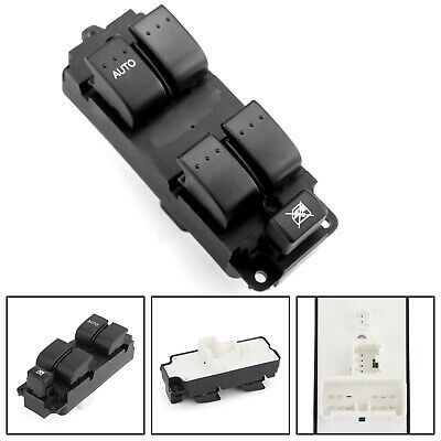 New Master Power Auto Window Switch BN8F-66-350A 5 Button For Mazda 3 2004-2009/