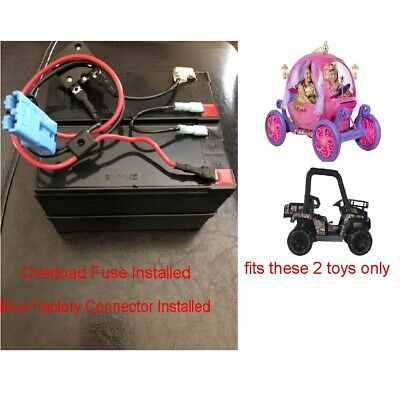 24V GRID Battery for Disney Princess Buggy Carriage Ride On W Special Connector