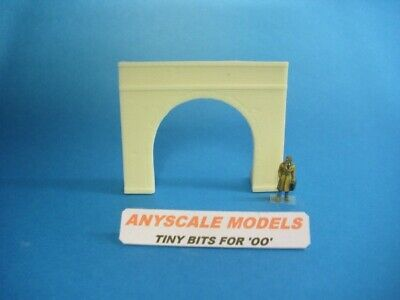 OO gauge model railway scenery Small canal or railway tunnel portal  0275