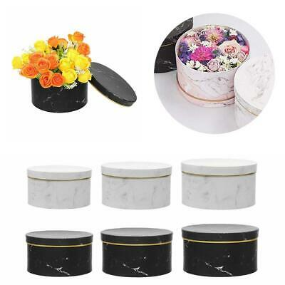 Florist Hat Boxes set of 3 Christmas Flowers Gifts Vase box Gift Living wed M3P7