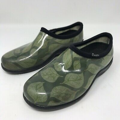 Sloggers Womens Garden Shoes, Leaf Green Size 7