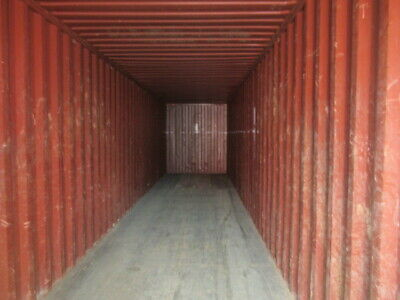 Used 40' Dry Van Steel Storage Container Shipping Cargo Conex Seabox Indianaploi