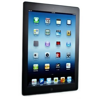 Apple iPad 3 16GB MD339LL/A A1416 Wi-Fi 9.7in Black and Silver WiFi Great Deal