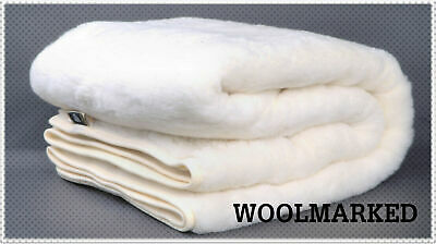 Merino Wool Underblanket Cashmere Wool Mattress Topper Pad 90 x 200 Protector