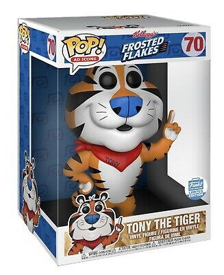 Funko Pop! Ad Icons: Tony The Tiger Super Sized Pop (10 Inch) Limited Edition!