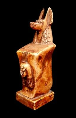 VERY RARE Ancient Egyptian Antique statue of GOD Kneeling ANUBIS 12th Dynasty