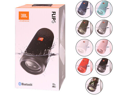 JBL Flip 5 Wireless Portable Waterproof Bluetooth Stereo Speaker All Colors