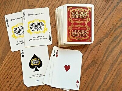 Vintage Playing Cards Golden Nugget Hotel and Casino