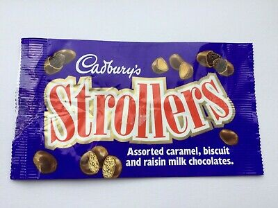 1991 Cadburys Strollers Chocolate Wrapper 2 19 Picclick Uk