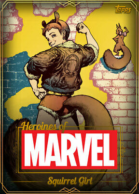 Topps Marvel Collect Squirrel Girl GOLD HEROINES OF MARVEL [DIGITAL CARD] 750cc