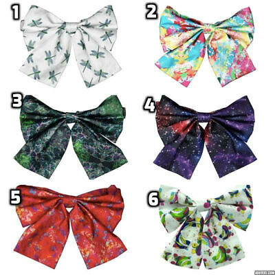 Pure Silk Twill Alternative Funky Quirky Smart Party Pre Tied Adjustable Bow Tie