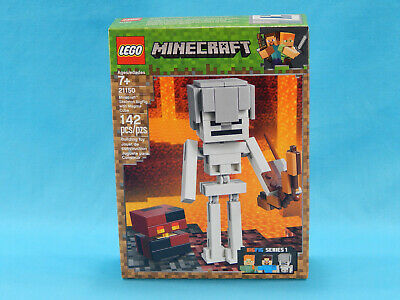 Lego Minecraft 21150 Skeleton BigFig with Magma Cube 142pcs New Sealed 2019