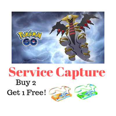 Pokémon Go 🔥 Capture Giratina 🔥 Buy 2 Get 1 Free ™️