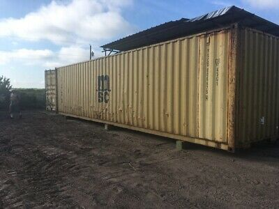 Used 40' Dry Van Steel Storage Container Shipping Cargo Conex Seabox Minneapolis