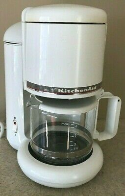 KitchenAid 4 Cup Ultra Compact Coffee Maker Model KCM055WH2 Travel Dorm Guest