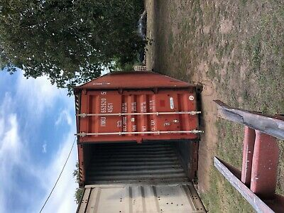 Used 40' High Cube Steel Storage Container Shipping Cargo Conex Seabox Mobile