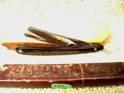 "Vintage Straight Razor, Justrite by C. Friedr ERN, 2-1/4""x9/16"", Excel Reduced"