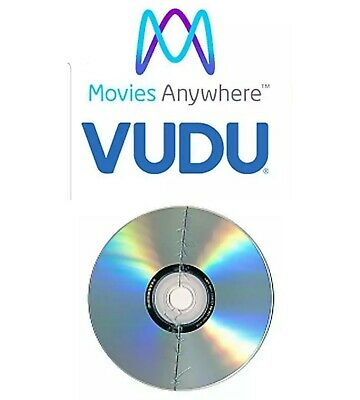 UPDATED! SALE! P1CK ONE broken dvd + VALID DIGITAL CODE - Movies Anywhere Vudu