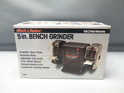 Brilliant Black And Decker Bench Grinder 15 00 Picclick Uk Machost Co Dining Chair Design Ideas Machostcouk