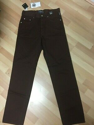 NWT MENS VERSACE COUTURE MADE in ITALY Chino Jeans CARAMEL W30 L34 H7.5 RRP£699