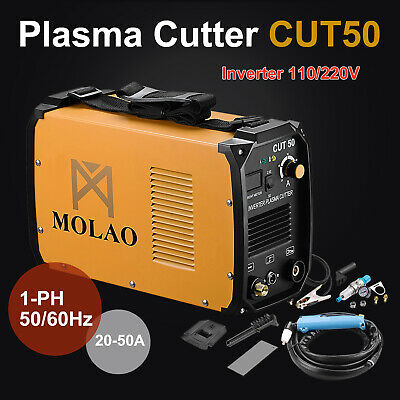 Plasma Cutter CUT50 Digital Inverter Dual Voltage Cutting Machine 110/220V