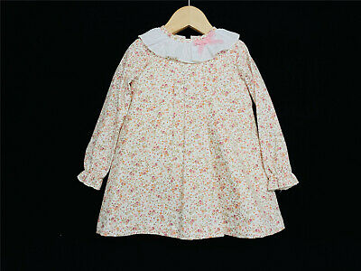 New Winter Arrival Gorgeous Baby Girl Spanish Floral Long Sleeve Dress