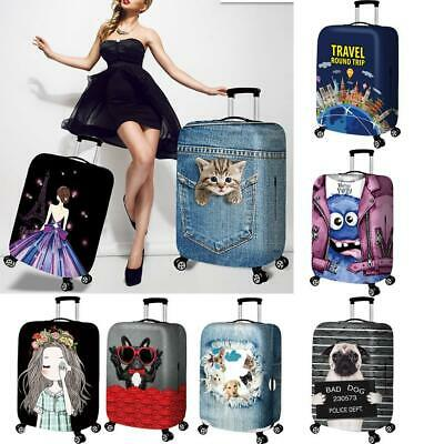 """Durable Luggage Protective Case Cover Suitcase Dust Protect 18"""" - 32"""" New"""